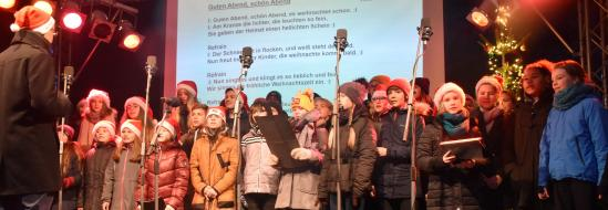 Deutsch-Polnisches Weihnachtsprojekt mit Freunden