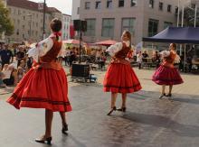 Tanzgruppe MAKI aus Zielona Góra beim Weltkindertag in Cottbus